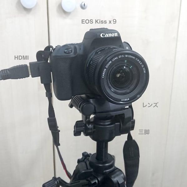 一眼 レフ web カメラ 化 WEB会議カメラを一眼レフに変えてみた〜一眼レフをWEBカメラにする方...